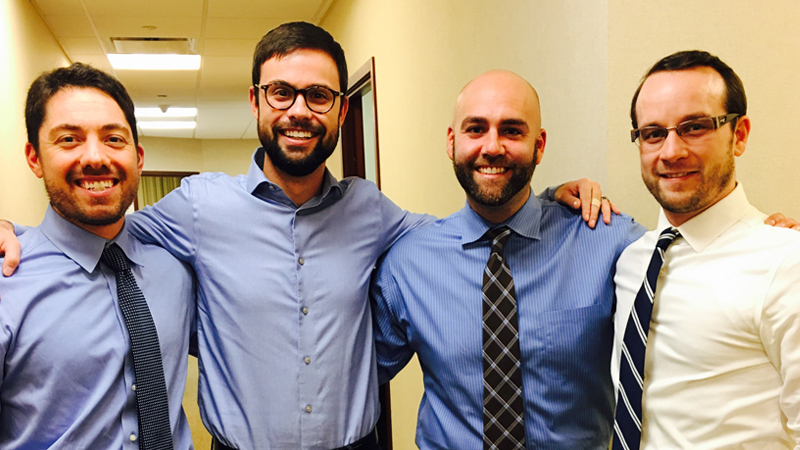 Cuddy & Feder Associates Join the No-Shave Charity Movement