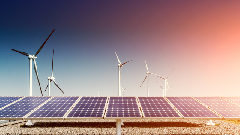 Wind and Solar energy development