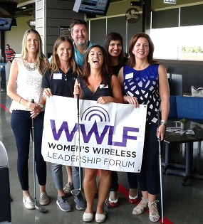 Women's Wireless Leadership Forum Hosted Networking Event at Top Golf