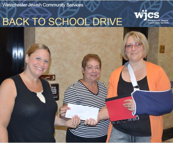 Cuddy & Feder Sponsors Children for the WJCS Back to School Drive