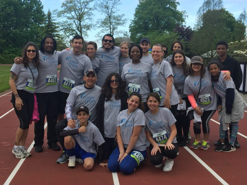 Cuddy & Feder group at 5k race
