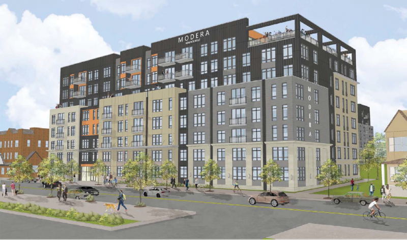Architectural rendering of 24 Maple Ave - Modera Mixed Use Development